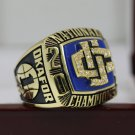 2004 Connecticut UCONN Huskies National Championship Ring Size 8 9 10 11 12 13 14 + Wooden Box