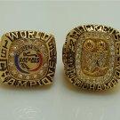 1994 1995 Houston Rockets Basketball championship ring size 10 US Ola juwon 2Pcs