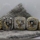 2017 2016 2009 1992 1991 Pittsburgh Penguins Stanley Cup Champions rings size 11