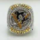 2016 NHL Pittsburgh Penguins Stanley Cup Championship ring size 9 US