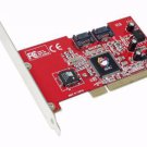 SIIG SC-SAT212 version 2 SATA Controller card, 2560 byte FIFOs per channel