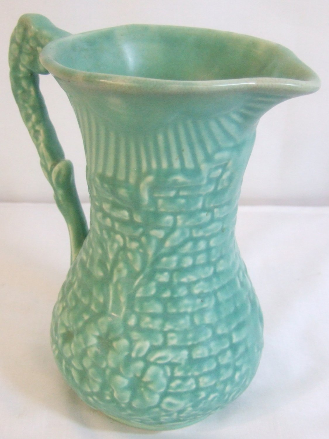 1950 S Arthur Wood Large Pottery Jug Ewer Garden Wall
