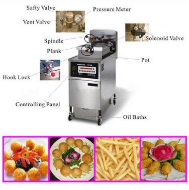 Gas Pressure Fryer - 25L Pressure Fryer 304 Stainless Steel