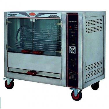 Commercial Chicken Rotisserie High Production - 25pcs per 30 Min - S/S Chicken Rotisserie Machine