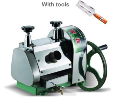 SUGAR CANE JUICER MACHINE MILL EXTRACTOR PRESS Stanless Steel Gears Manuel Power