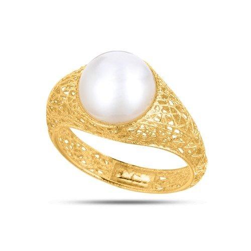 Stil Novo Pearl Ring In 14K Gold