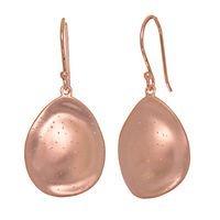 Stardust teardrop earrings in sterling silver