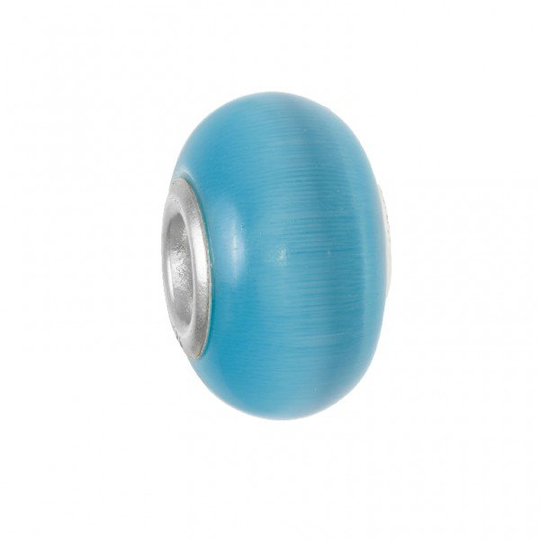 Personality blue Cats Eye bead