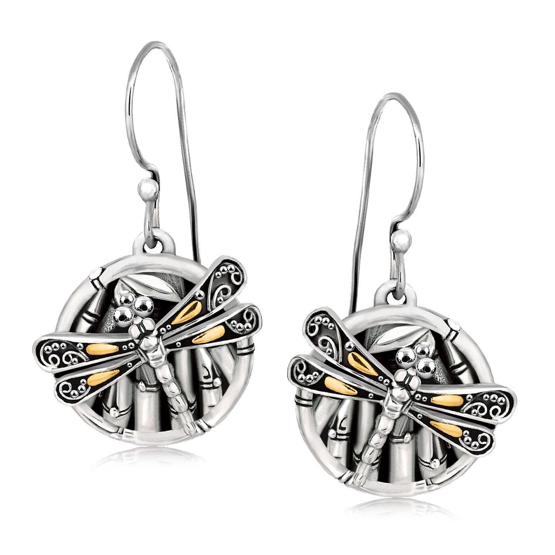 Phillip Gavriel 18K Yellow Gold & Silver earrings