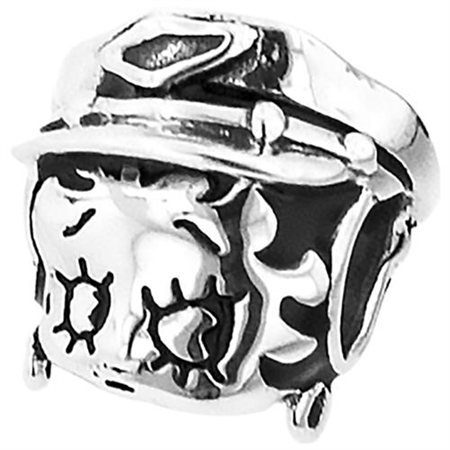 """Personality jewelry collection Sterling Silver """"Betty Boop"""" Enamel Motorcycle Bead"""