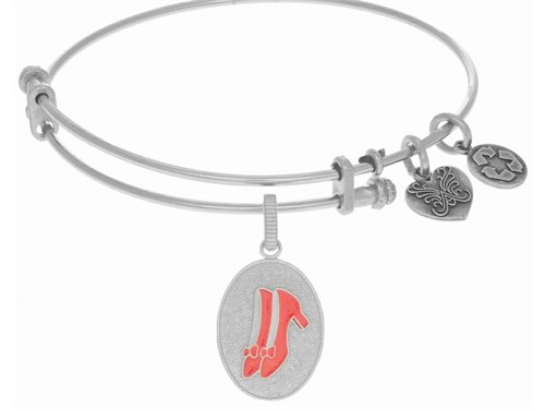 Angelica Jewelry collection wizard of oz Red Slipper Expandable Bangle