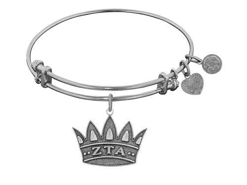 Angelica Jewelry collection Zeta Tau Alpha Expandable Bangle - Style No. WGEL1236