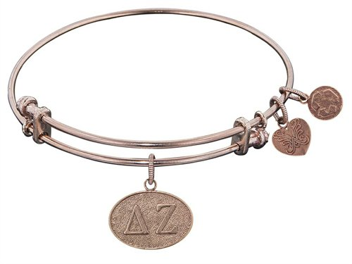 Angelica Jewelry Collection Delta Zeta Expandable Bangle - Style No. PGEL1229