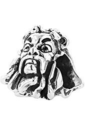 Personality Beads Sterling Silver Wizard of Oz Cowardly Lion Head Bead Charm