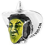 Personality Beads Sterling Silver Wizard of Oz Enamel Wicked Witch Bead Charm