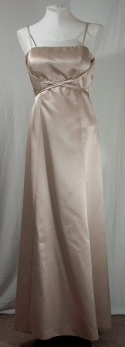 After 6, Champaign Bridesmaid Dress, size 2