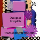 Scalloped Journal Template