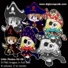 Little Pirates Clip Art