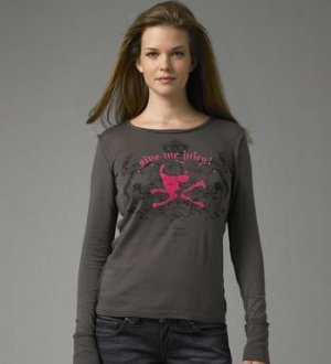 Juicy Couture Boyfriend Fitted Top T Shirt