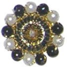 1/2inch wide Beaded Appliques