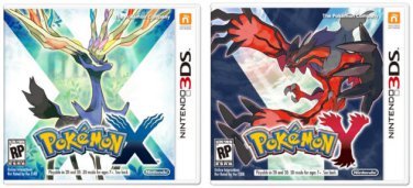 Pokemon X and Pokemon Y Package