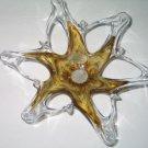 Vintage Murano Vetro Eseguito Secondo La Tecnica Dei Maestri Di Art Glass Bowl Made in Italy