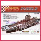 Aircraft Carrier (USS Constellation CV-64) - Paper 3D puzzle DIY model for edu student gift
