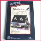 CubicFun - Bridal Tea House in UK PAPER 3D puzzle DIY jigsaw model for edu kid gift (45 pcs)