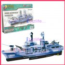 HMS NORFOLK FRIGATE - PAPER 3D puzzle DIY jigsaw model for Easter edu kid gift
