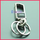 MUDA Metal keychain with High Quality, Stronger and Rust resistance with 2 rings KC04