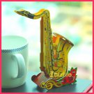 Calebou - SAXOPHONE (Musical) PAPER 3D puzzle DIY simple jigsaw model as gift