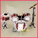 Calebou - BACK DRUM (Musical) PAPER 3D puzzle DIY simple jigsaw model as gift