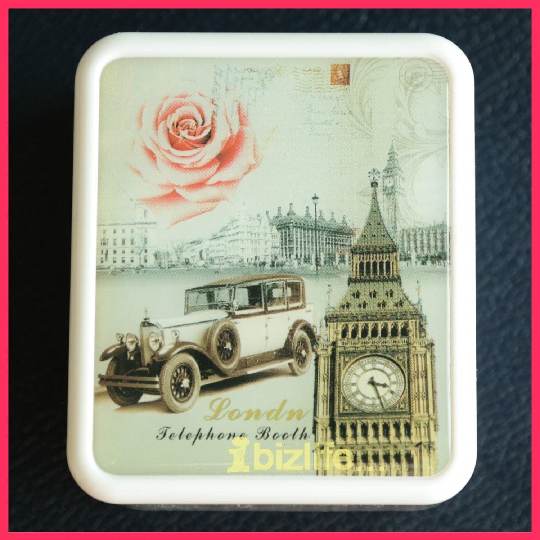 "Mini London Romantic Desktop Music Box / Tune Box play ""Castle in the Sky"" (MB01)"