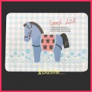 Cutie Circus Horse-Memo note sheet Pack with ring connected presentation cards stationery (PS01)