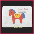 Cutie Circus Horse-Memo note sheet Pack with ring connected presentation cards stationery (PS04)