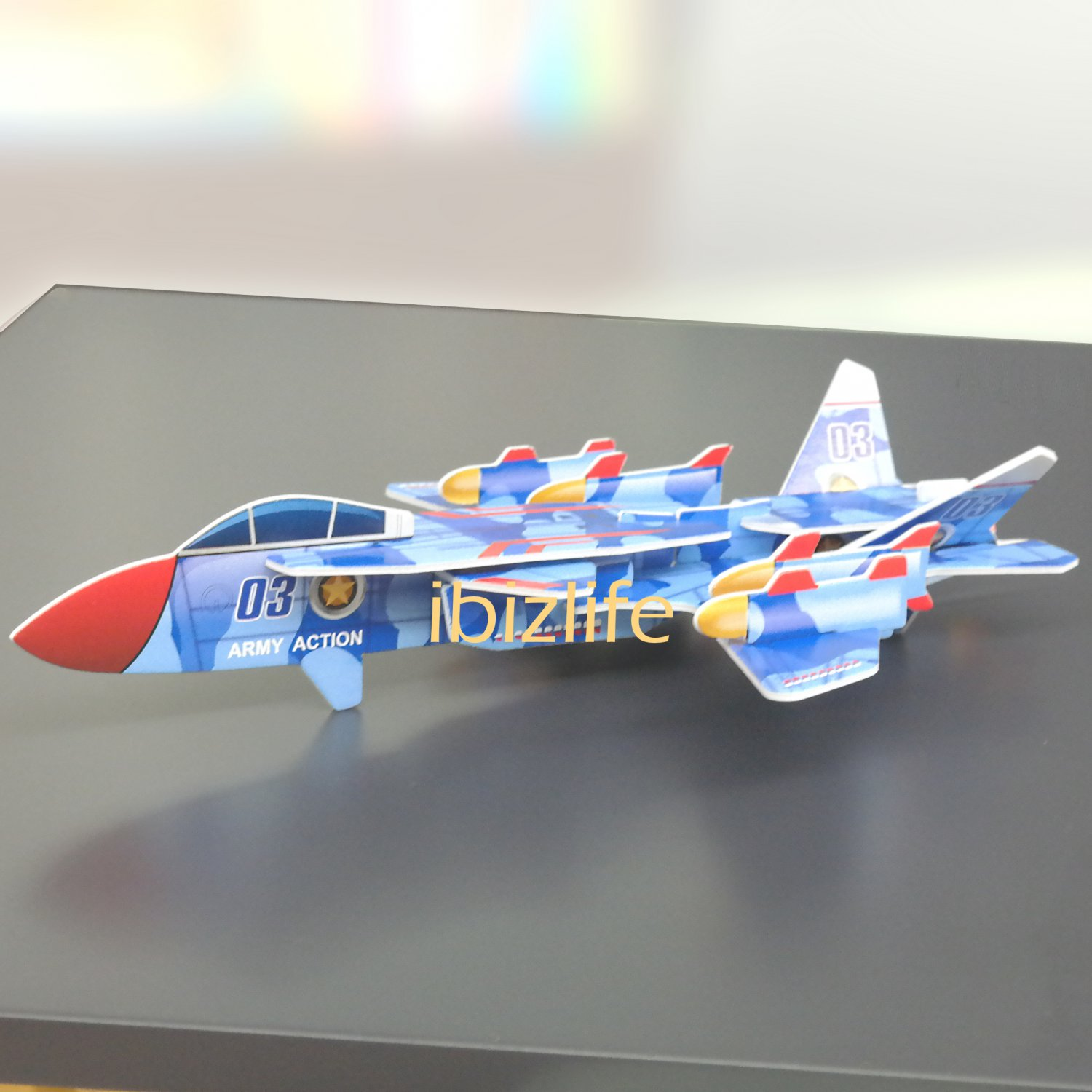 PAPER 3D puzzle DIY jigsaw craft model AIR FORCE as gift