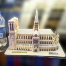Notre Dame De Paris-France 3D Puzzle set Calebou 2804-E 74 pcs DIY Jigsaw model as gift