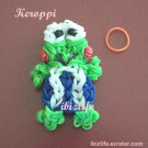 Handmade Multicolor carton character charm rainbow loom rubber band (RL12)
