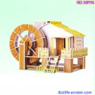 Grinding Mill - 3D Puzzle 55 pcs DIY Jigsaw model as gift (pc62)