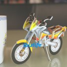 PAPER 3D puzzle DIY jigsaw craft model Bike (2 per pack)  as gift - Yellow MOTO