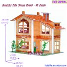 Beautiful Villa DIY for Colorful dream house (with mini Furnitures) - 3D Puzzle pc77