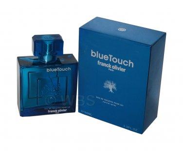 Blue Touch Cologne By Franck Olivier For Men 3.3 Oz EDT Spray