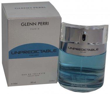 Unpredictable by Gleen Perri Cologne For Men 3.4 Oz EDT Spray