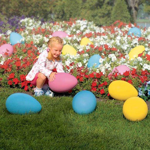 Set of 2 Giant Plastic Eggs