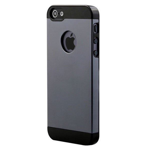 Ultrathin Metal Style Protector Case Cover For iPhone 5 5S-Black