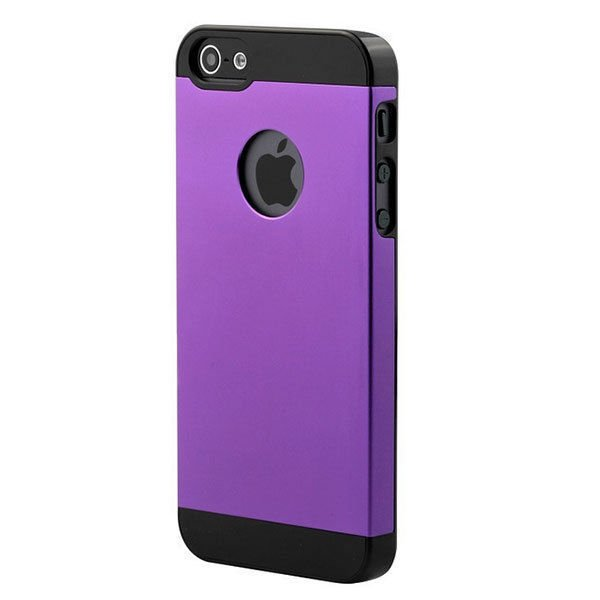Ultrathin Metal Style Protector Case Cover For iPhone 5 5S
