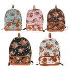 Floral Schoolbag/Backpack