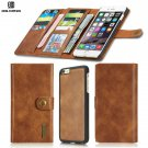 Magnetic Detachable Card Slots Leather Wallet Stand Case Cover For iPhone 5.5 - 6/6s Plus