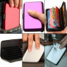 Waterproof ID Credit Card Wallet Aluminum Metal RFID Case Box Business Holder