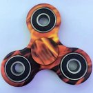 Orange Rotating Fidget Hand Spinner ADHD Autism Fingertips Fingers Gyro Reduce Stress